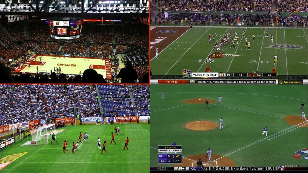 4K Sports Content Viewing