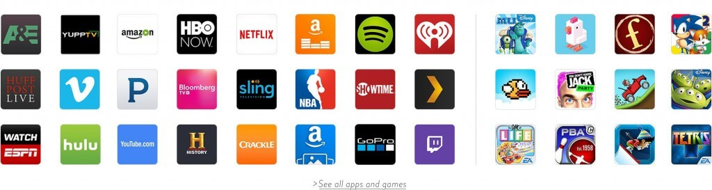 Amazon Fire Stick TV giveaway apps