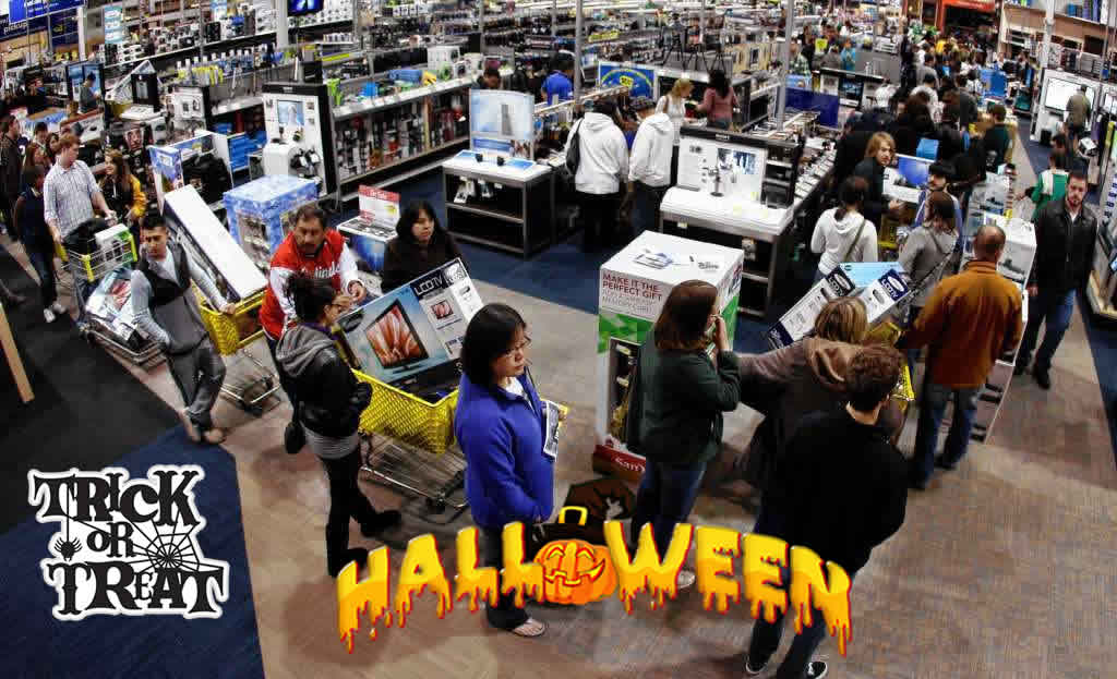 Halloween HDTV deals 2018