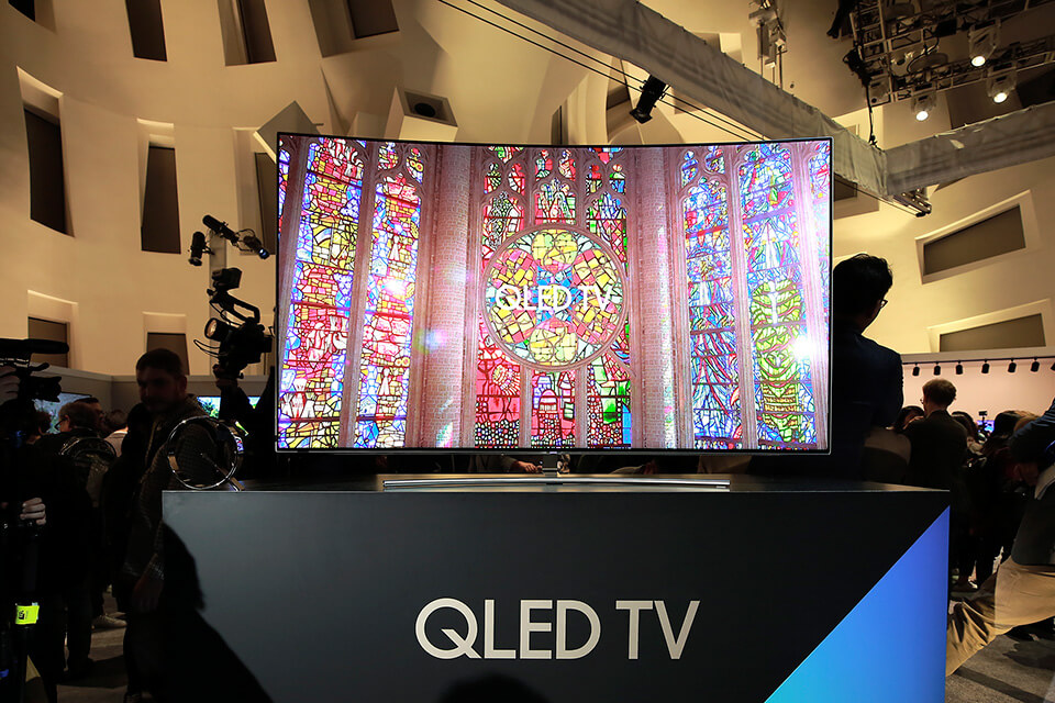 Samsung's new QLED TVs dramatically enhanced color performance