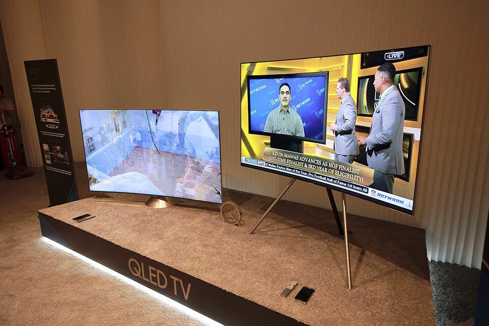Samsung's new QLED TVs utilizes Quantum dot material