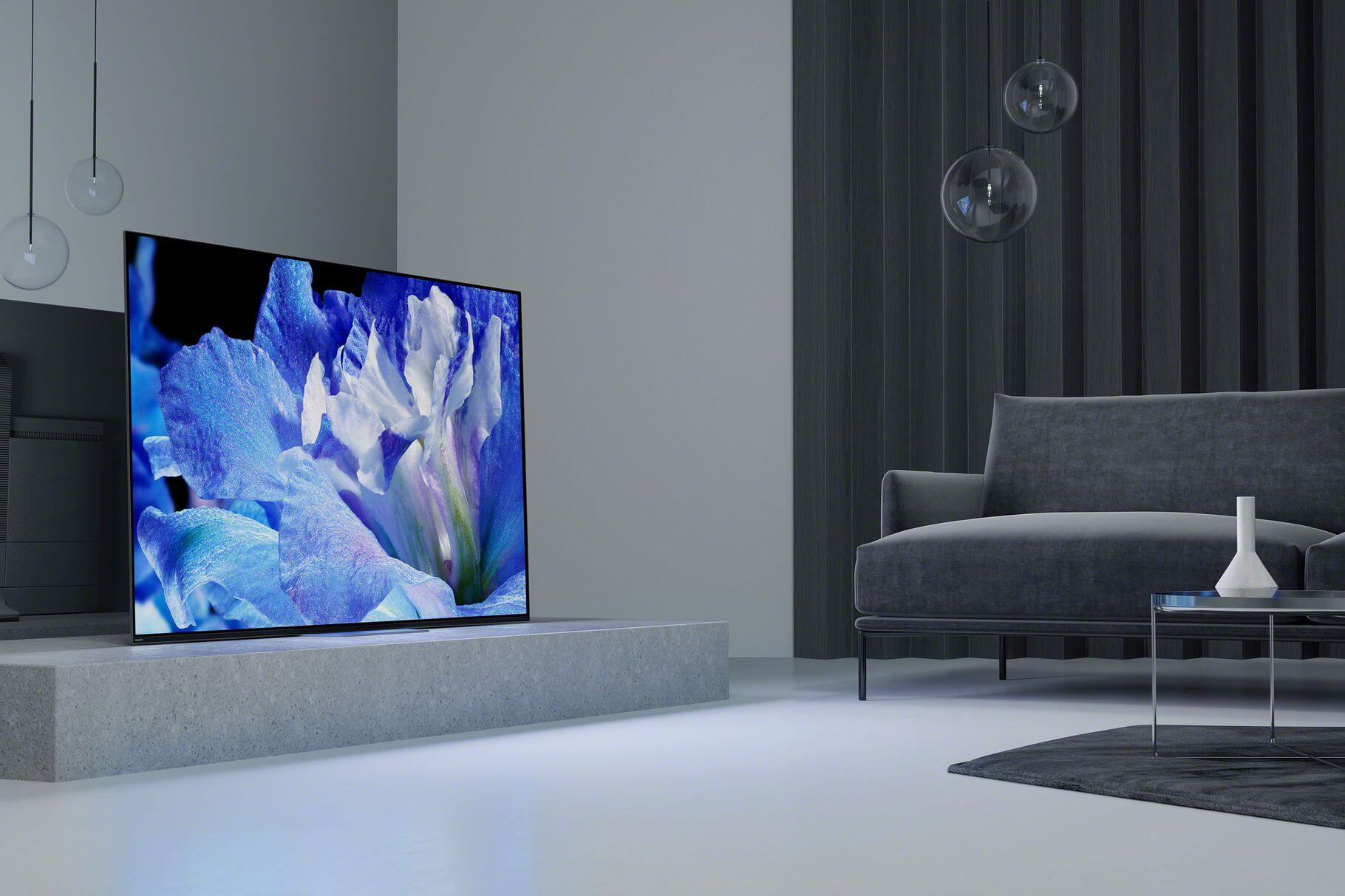 "Sony's AF8 4K OLED features ""a more traditional TV design"" with visual and audio upgrades"